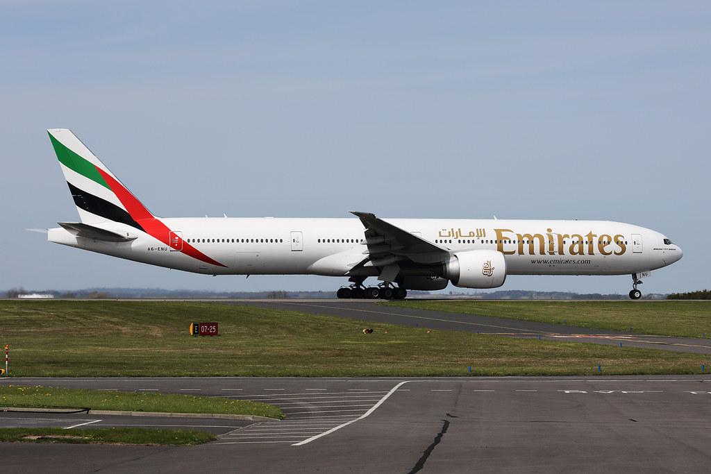 A6-ENU - B77W - Emirates