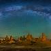 Trona Pinnacles by Wayne Pinkston