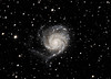 The Pinwheel Galaxy (M101) from Death Valley on 2013-03-19