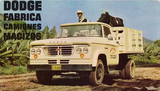 1963 Dodge D-300 Stake Truck (Mexico)