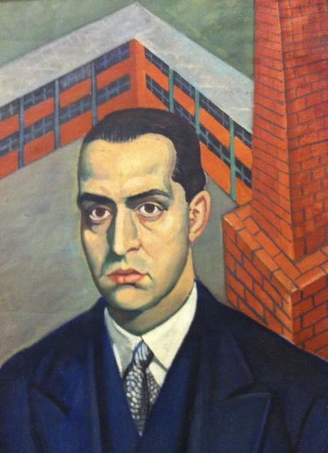 self portrait by Petar Dochev (1934-2005)