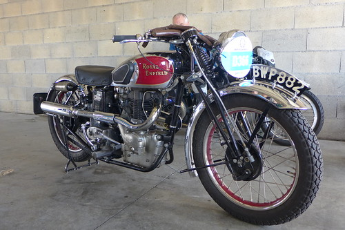 Royal Enfield JZ Bullet 1938 500cc OHV