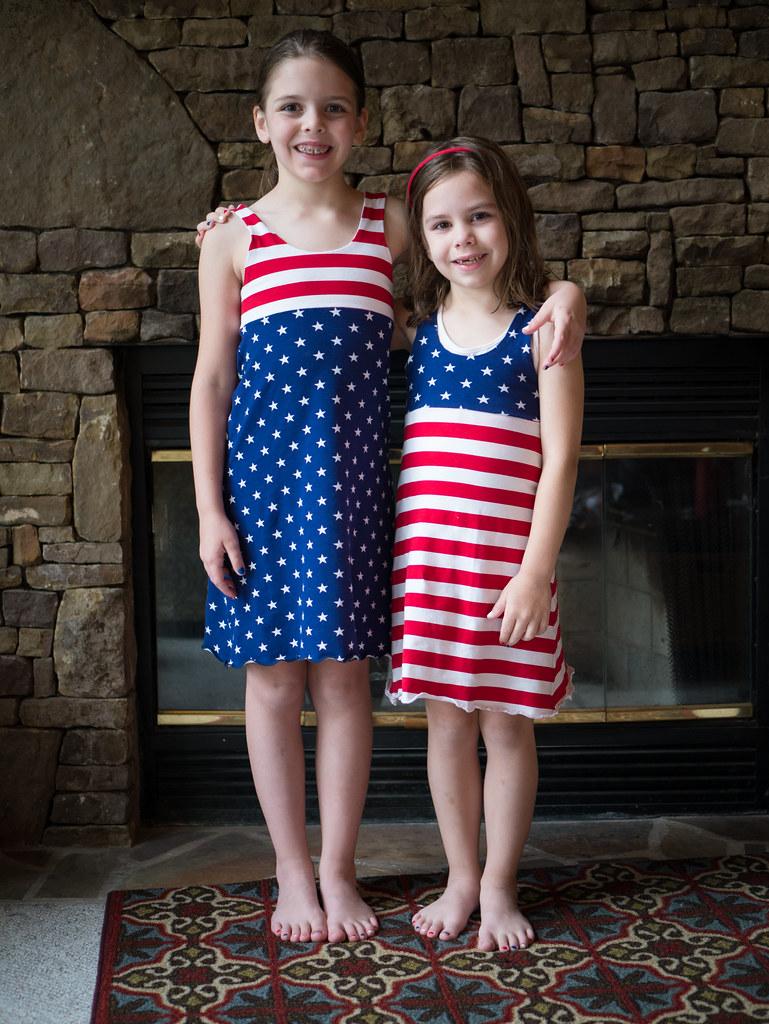Patriotic dresses