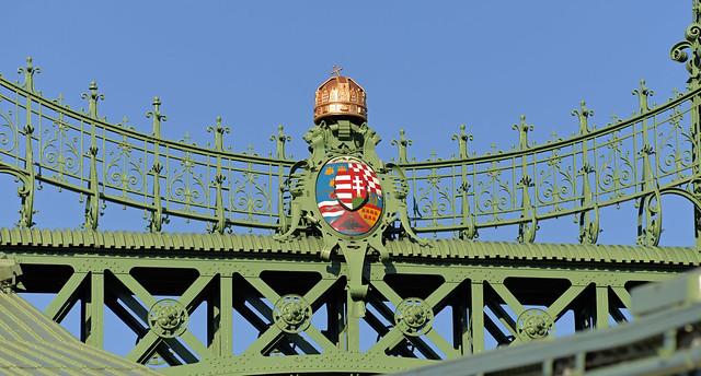 Szabadság híd (Liberty Bridge), Budapest, Hungary