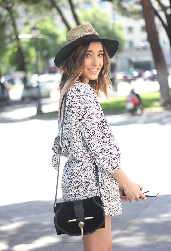 Black and White Jumper Zara Hat Uterqüe 09