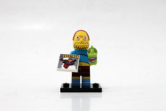 LEGO The Simpsons Minifigures Series 2 (71009) - Comic Book Guy