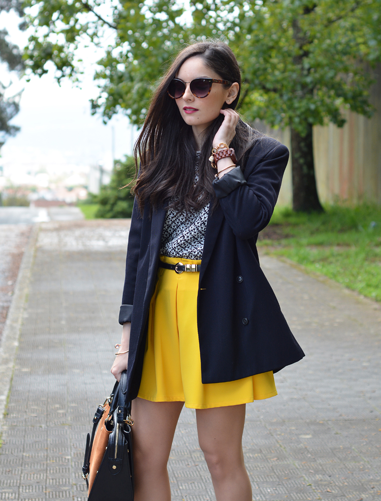 Zara_ootd_outfit_yellow_animal_print_blazer_10