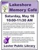 Lakeshore Memory Cafe