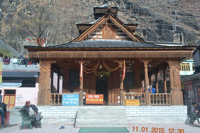 One of the temples at Manikaran. Credits - Rupayan Banerjee