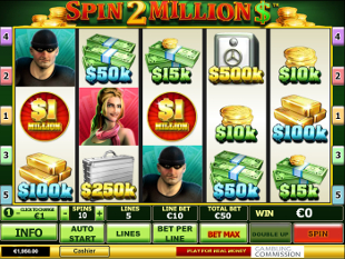 Spin 2 Million Dollars slot game online review