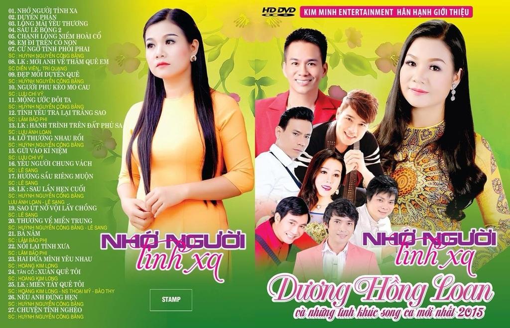 Nhớ Người Tình Xa Dương Hồng Loan DVD5/DVDRip
