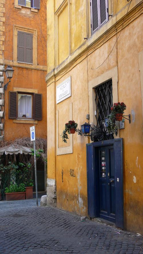 Vicolo di S. Biagio Rome