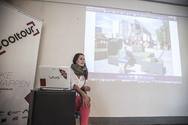 Klára Hajdinová vzhůru nohama - přednáška