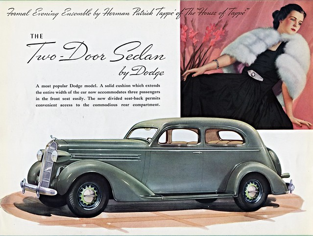 1936 Dodge Two-Door Sedan