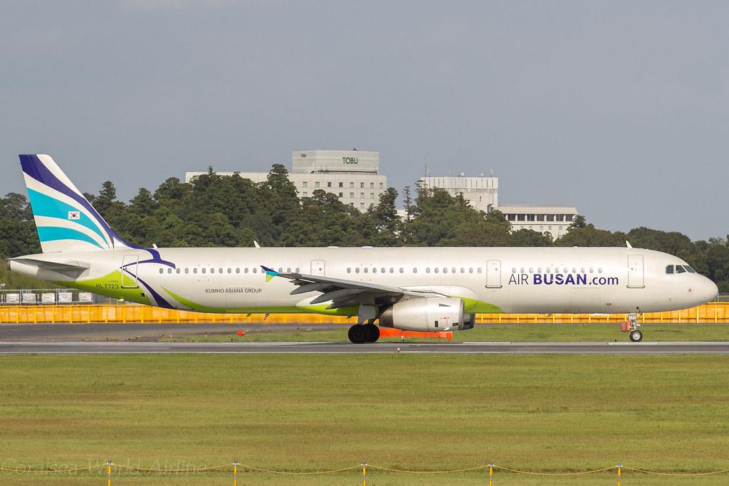 Air Busan / A321-231 / HL7723 / NRT