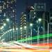 Avenue in night (東京都道473号新富晴海線)