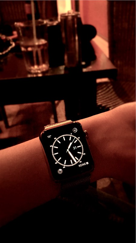 Apple Watch & Party? Achtung!