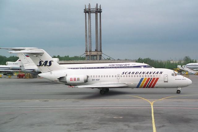 OY-KIF Douglas DC-9-21 SAS Scandinavian Airlines