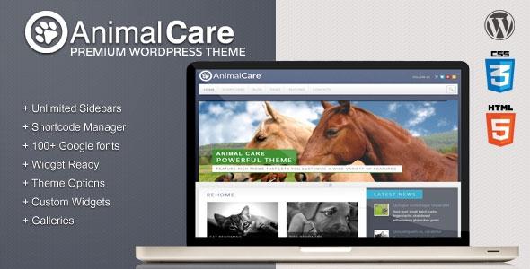 Animal Care v1.4 - Premium Wordpress Theme