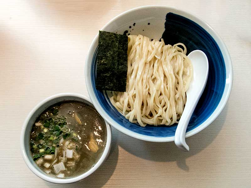 らー麺山さわ 煮干つけ麺