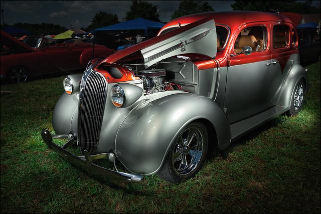 1937 Plymouth Sedan 331 Hemi (2016 Blue Ridge Community College Car Show)