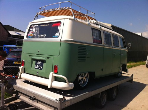 AR-58-09 Volkswagen Transporter SO-42 Westfalia camper 1966