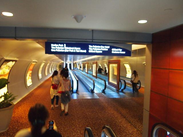 ラッフルズ・プレイス駅からマーライオン公園への行き方 シンガポール