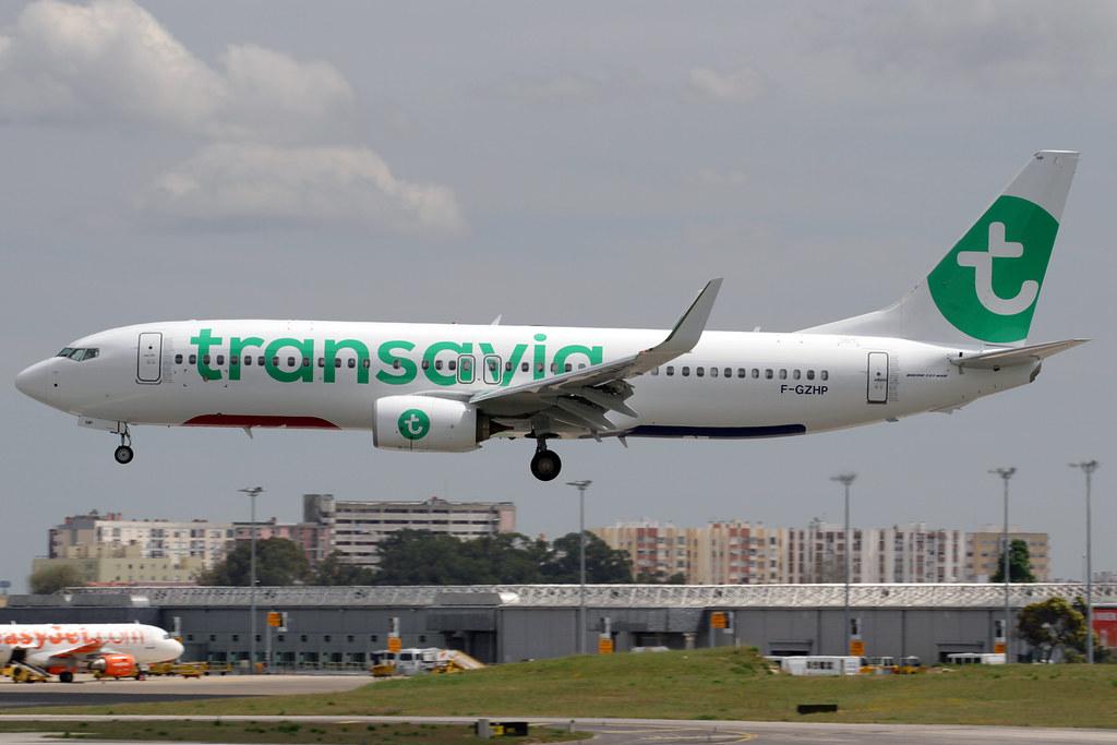F-GZHP - B738 - Transavia France