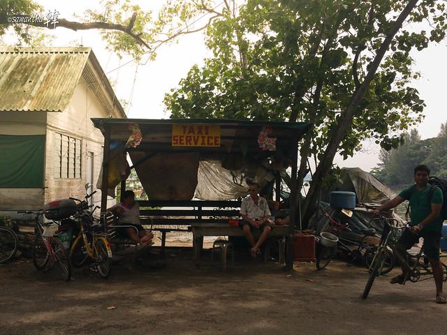 Pulau Ubin-Taxi