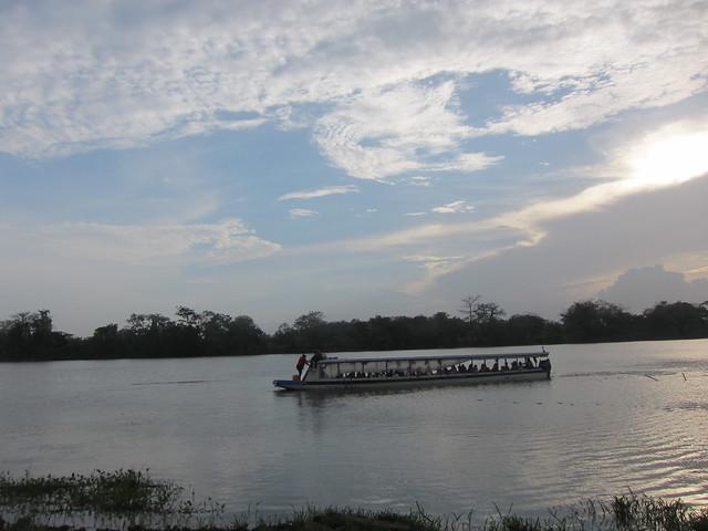 Arriving via the Río San Juan