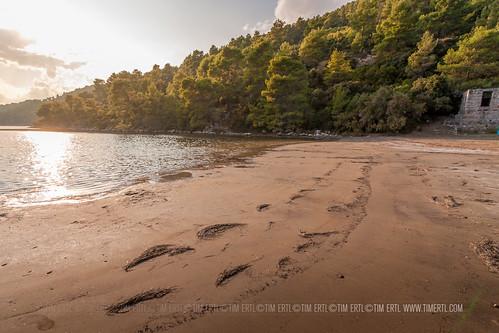 summer beach island bay sand mud croatia korcula croazia kroatien korčula istruga croazie