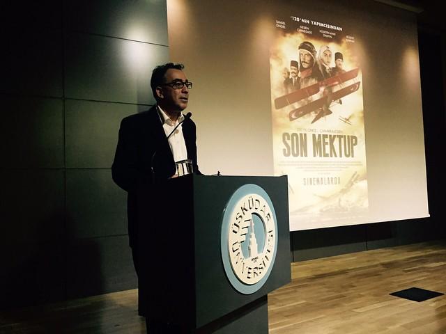 120 ve Son Mektup filmleri yönetmeni Özhan Eren kültür derslerine katıldı