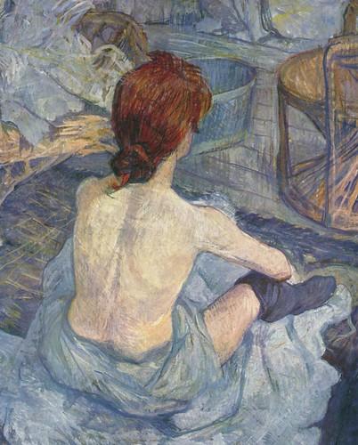 Henri de Toulouse-Lautrec - la toilette
