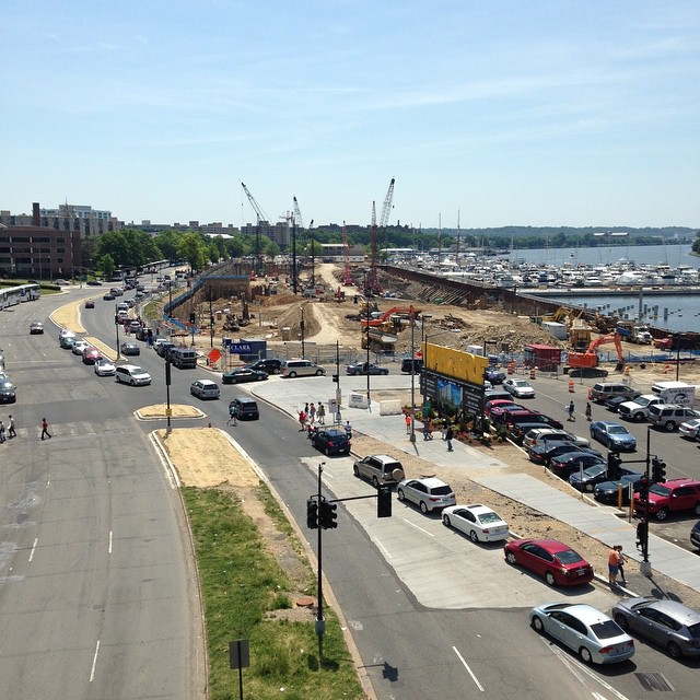 Waterfront construction rivals Rosslyn