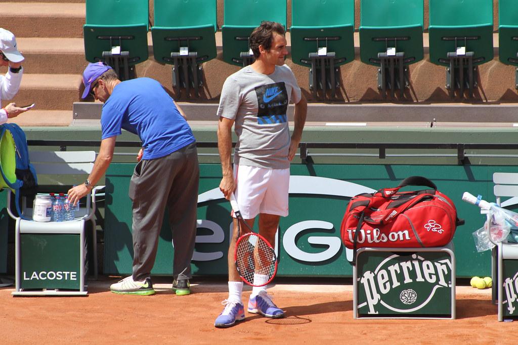 Edberg and Federer