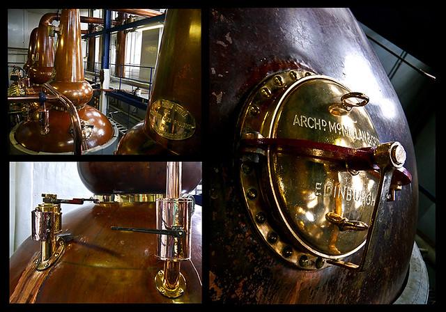 photo - Stillhouse collage, Deanston Distillery