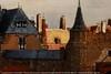 """La représentation continue 1839 - """"Petit pan de mur jaune"""", in Johannes Vermeer, 1632-1675, Vue de Delft, 1660, dét. — Mauritshuis, La Haye, Pays-Bas"""
