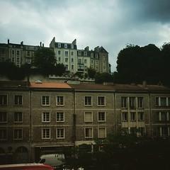 Ciel gris sur Poitiers.