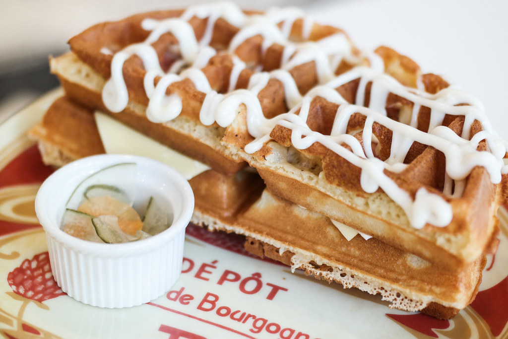 Toa Payoh Food Guide: The Little Prince Creamery's waffle