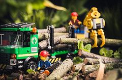 LEGO City 60059 - Le Camion Forestier