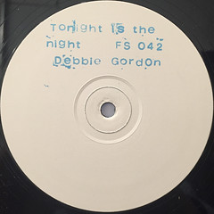 DEBBIE GORDON:TONIGHT'S THE NIGHT(LABEL SIDE-A)