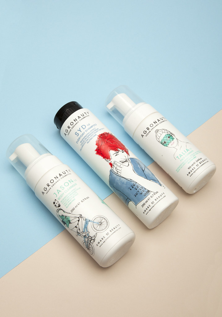 skin care product landing pages