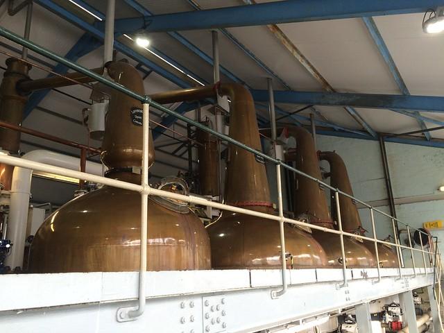 Laphroaig Distillery stills