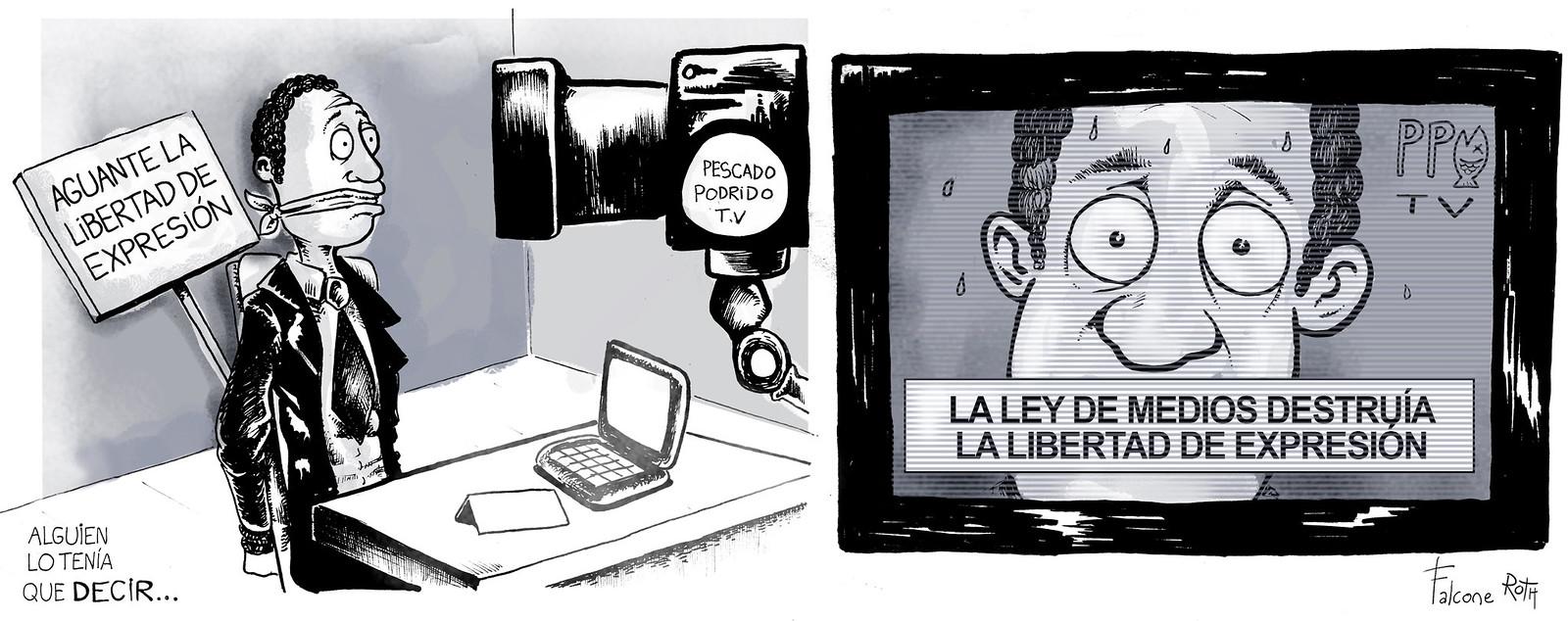 libertad de expresión y ley de medios