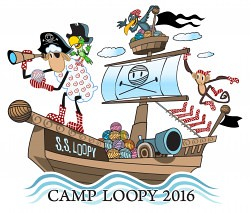 Camp Loopy 2016 button