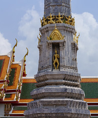 Layered architecture of Wat Pho