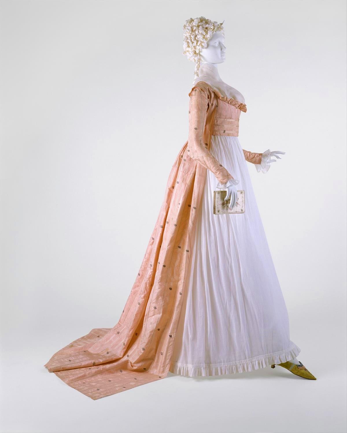 1790s, American, silk. metmuseum