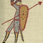 Saxon Soldier, by Stamford Bridge Tapestry Project