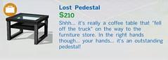 Lost Pedestal