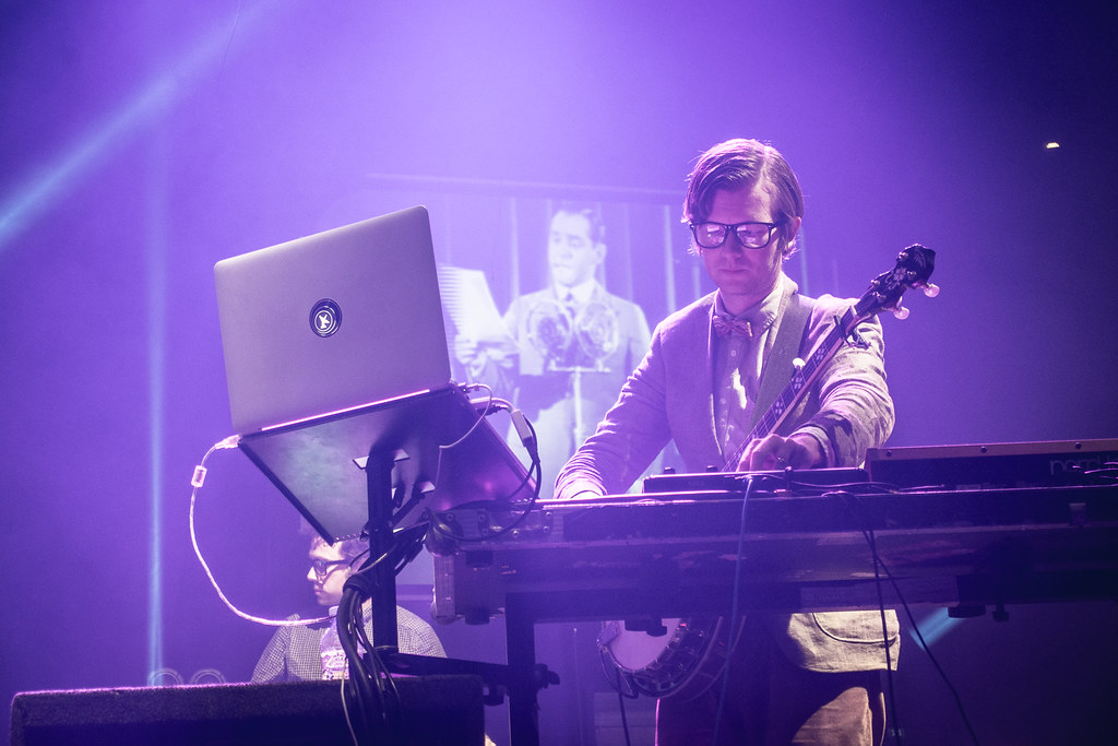 Public Service Broadcasting at the Roundhouse